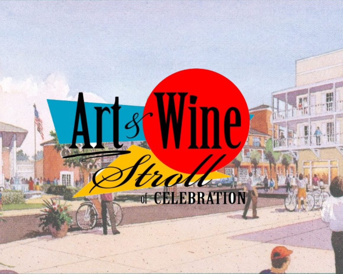 Art & Wine Stroll-Celebration Town Center- March 14, 2020