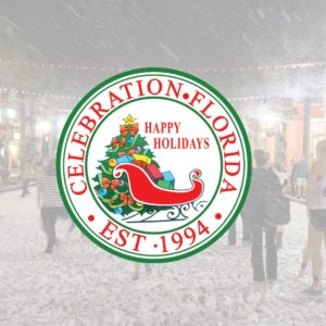 Now Snowing-Celebration Town Center- November 30-December 31st, 2019
